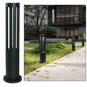 LED street lamp 12W outdoor IP65 lantern black light garden yard avenue 60cm