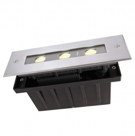Spotlight floor 5W LED recessed ground cement garden light facade IP67