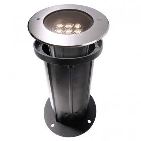 Spotlight segnapassi adjustable LED 7W recessed ground light garden IP67 3000K