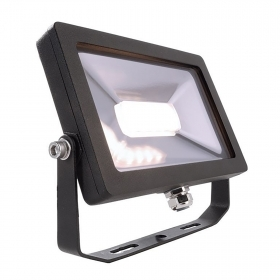 Headlight black LED 14W ceiling, wall and outdoor lights, garden shop signs IP65