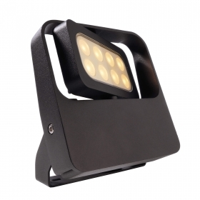 LED spotlight 9W adjustable external directed light garden showcases trees IP65 230V