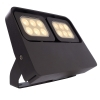 LED spotlight 12W double diffuser adjustable light store showcase garden IP65