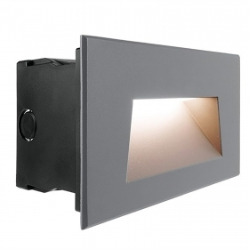Spotlight, recessed, wall sengpassi LED 7W light garden avenue stairs 3000K IP65 230V