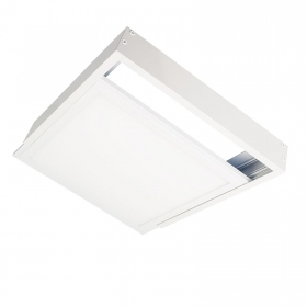 Square frame support fixing of the ceiling wall LED panel 60x60 cm
