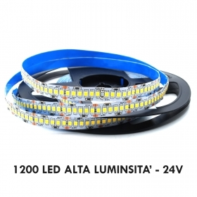Strip-1200 LEDS 5m strip adhesive flexible 120W led interior light profiles, 24V IP20