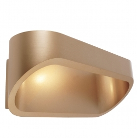 Applique LED brass wall-lamp 5W dual beam light input shop 3000K