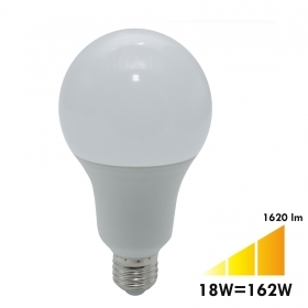 LED lamp E27 18W made 162W led bulb A80 1620 lumen light 3000K 4000K 230V