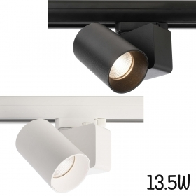 Spotlight modern 13W LED track rail three-phase light store showcase 1180lm 230V