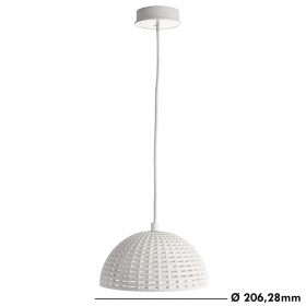 Modern lamp suspension 3mt chandelier LED 10W E27 light counter table 230V