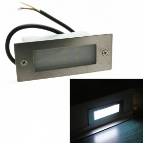 Spotlight recessed marks distance of 3W LED light wall outdoor stairs garden IP65 230V