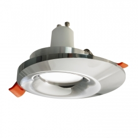 LED spotlight 8W GU10 recessed