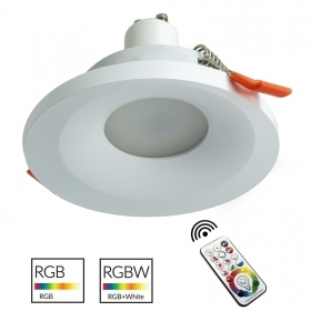 LED spotlight 6W RGB led GU10 recessed modern ceiling 65mm games light chromotherapy