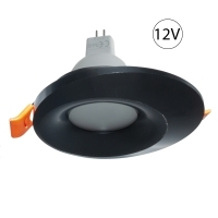 Spotlight plata LED 7W 12V empotrad