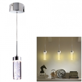 Lamp LED pendant 6W pendant modern glass light kitchen table 3000K 230V
