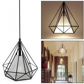 Modern chandelier LED lamp 18W pendant E27 light table cuisine 230V