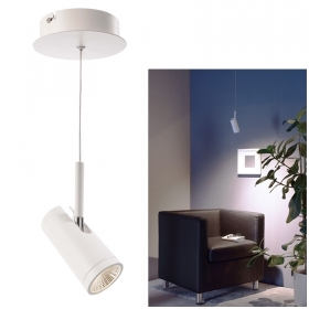 Lamp adjustable spotlight pend