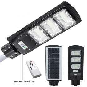 Lighthouse road solar street lamp LED 72W 6000K motion sensor light outdoor IP65