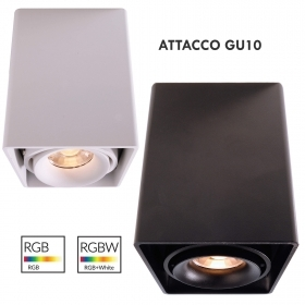 Led downlight square lamp, mod
