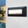Spotlight wall segnapassi wall sconce with rectangular LED 4W light avenue 230V IP65 4000K