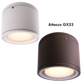 LED ceiling light spotlight ceiling lamp GX53 6W light terrace balcony IP54 230V