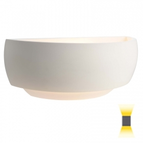 Plaster white wall lamp LED wall wa