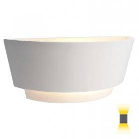 Plaster wall light LED lamp E14 6W