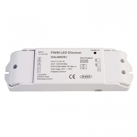 DALI PWM controller power supply dimmer 12 24V 3CH 6A RGB LED strips IEC62386