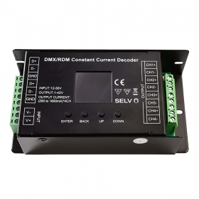 Control unit 12-24V LED DMX512