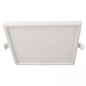 Modern panel recessed square spotlight LED 12W ceiling light 3000K shop