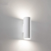 LED wall lamp plaster wall lamp double emission GU10 entrance light 230V