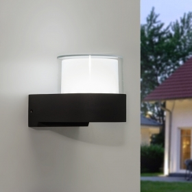 Outdoor LED wall lamp modern w