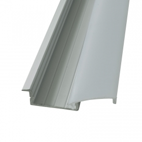 Linear profile T 2m recessed w