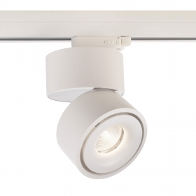 Led spotlight-spot for binary three-phase swivel LED COB 26W 2500Lm 230V