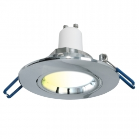 Recessed spotlight 75mm smart lamp WiFi LED 5W GU10 light from 2700K to 6500K