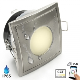 Spotlight LED recessed square
