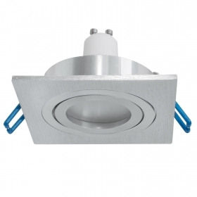 Square recessed spotlight LED 5W GU10 lamp WiFi android light from 2700K to 6500K