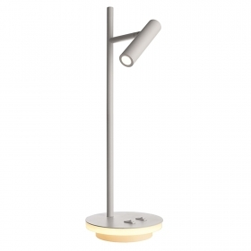 Adjustable double LED table lamp 4.8W reading light office study 230V