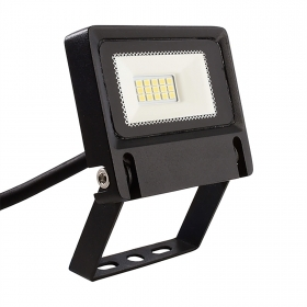 Outdoor LED floodlight 10W light garden parking tables 4000K 230V IP65