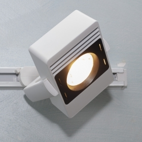 Track spotlight track single-phase LED spot 30W light shop window office 230V