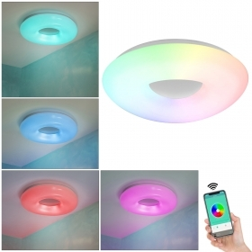 Ceiling light SMART WiFi LED 36W RGB multicolor white light CCT APP Alexa Google